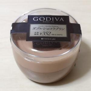 ローソン Uchi Café×GODIVA ダブルショコラプリン