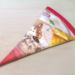 森永製菓『ザ・クレープ レアチーズケーキ』コンビニ限定!パリパリもちもち食感♪