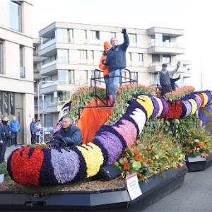 オランダ旅行!4日目① -Bloemencorso- 春のフラワーパレード