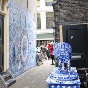 オランダ旅行!4日目③-Delft-デルフトブルーの焼き物の町