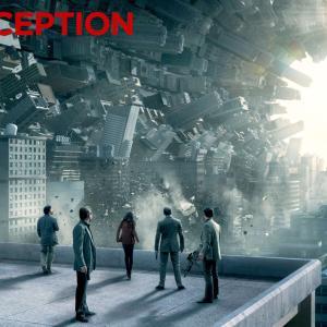 インセプション・・・街が海苔巻き?になる映画