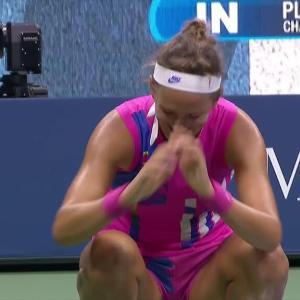 激戦の女子準決勝/全米オープンテニス