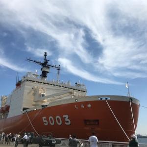 南極観測船「しらせ」を見学してきました。(2019年@名古屋)