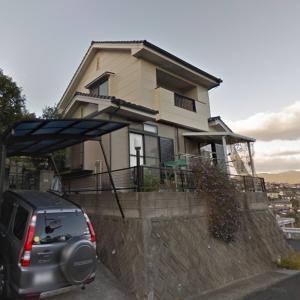 佐世保市天神町の中古一戸建て 高台から海と街並みが見える オール電化・太陽光発電住宅