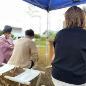 「水を与える家」地鎮祭