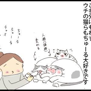 【イラスト】ちゅーるのうた
