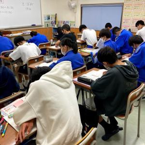 榛東中・1学期期末テスト対策終了!