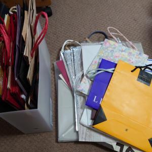 紙袋の整理と処分