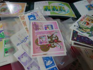 切手の整理