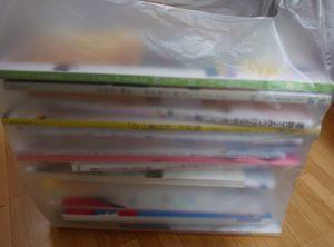 雑誌や本をブックオフへ