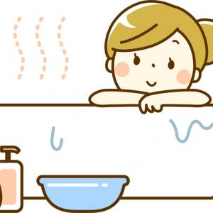 お風呂の風呂釜掃除、頭から抜けてました