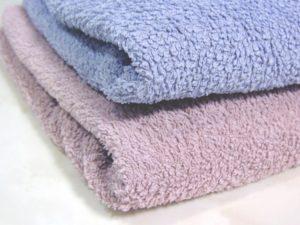 タオルやカーテン、マット類の年間を通した交換計画を立てました