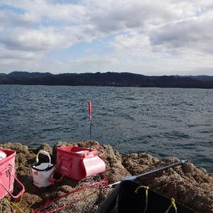 12月14日 西海 カブト瀬のハナレ釣行