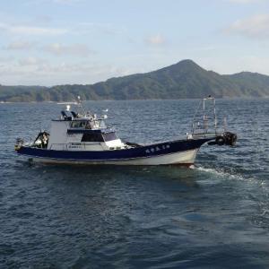 9月12~13日 10数年振りのカブト瀬の夜釣りへ