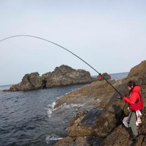 4月10~11日春のクロ釣り上五島平島釣行