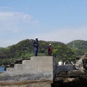 4月24日  大瀬戸 ネズミ瀬灯台へ