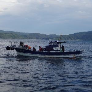 8月13日 台風前に五幸丸へ夜釣りに