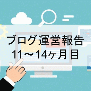 【運営報告】ブログ11~14ヶ月目 PV数、収益、目標など