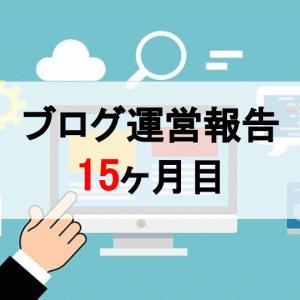 【運営報告】15ヶ月目:PVは8,000代へ突入、収益は微増!【ブログ】