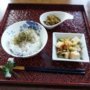 塩麹鶏肉グリル焼き・甘味噌ゴーヤチャンプルー