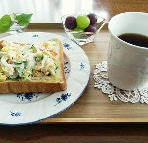 ポトフ・イチヂクと生ハムのサラダ