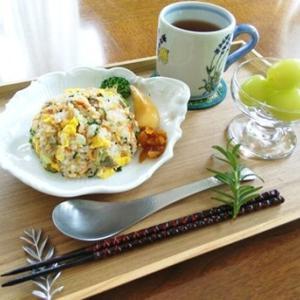 鮭チャーハン ・ 皿うどん
