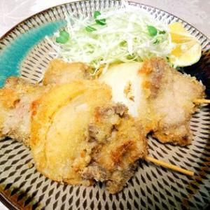串カツ!青海苔卵焼き