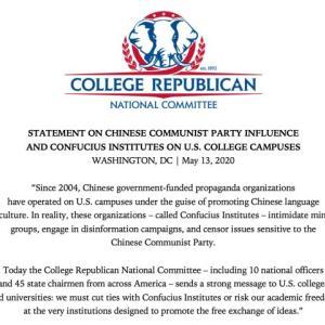「孔子学院」排除に動いた米国政府と米国科学アカデミー