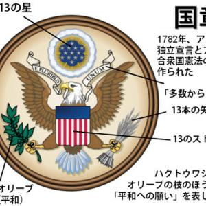 コロンビア特別区の印章はハクトウ鷲を従えている