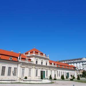 ベルヴェデーレ宮殿上宮まで歩きますよー お庭ん ウィーン2019-38