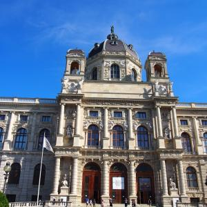 美術史博物館-入り口 ウィーン2019-44