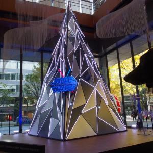 スターウォーズのツリーたち 丸の内クリスマスのお散歩-2