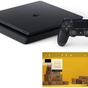 Amazonで在庫復活中!PlayStation 4 ジェット・ブラック 500GB