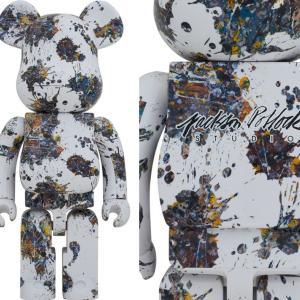 9月24日0時よりPROJECT1/6楽天店で予約開始!BE@RBRICK Jackson Pollock Studio(SPLASH) 1000%