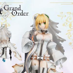 あみあみで予約再開中!Fate/Grand Order セイバー/ネロ・クラウディウス[ブライド] 完成品フィギュア(再販)[フレア]