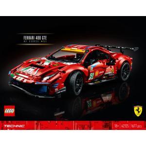 本日10時より販売開始!【流通限定商品】レゴ (LEGO) テクニック フェラーリ 488 GTE AF コルセ #51 42125