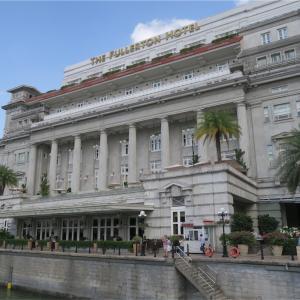 SFC修行*ANAプレミアムエコノミーでシンガポールへ★3 《フラトンホテル ザコートヤードでアフタヌーンティー》