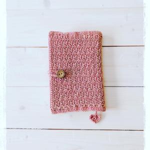 crochet  ブックカバー
