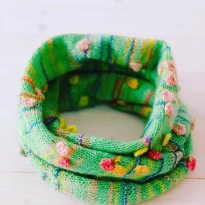 ひと針ひと針編む
