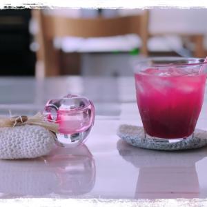 今季ラストの赤紫蘇ジュース作り