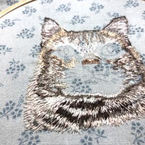 私の刺繍時間