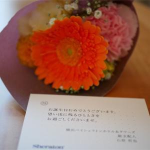 【宿泊記】ベイシェラトン横浜ホテル&タワーズ【誕生日】