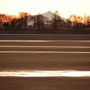 筑波山のある風景