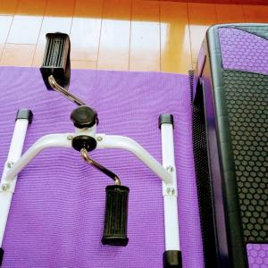 変形性膝関節症日記⑳197日目 ソファーでエアロバイク(#7【まったり動画日記】おしゃべり♪)