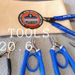 【ものづくり】アクセサリー制作用工具をいろいろ購入♪持ちやすく使いやすい工具ご紹介♪