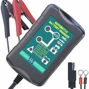 LeicesterCNLのバッテリーチャージャーでバイクのバッテリーを充電しました。
