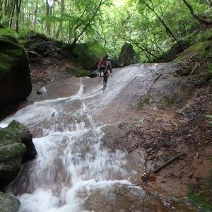 足尾地味沢探訪 雨降沢遡行し小法師岳・巣神山 ・945.1m三角点峰と行き庚申ダムへ下る その1