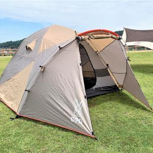 キャンプ初心者がDODのテントを使うべき3つの理由