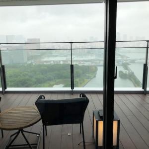 最先端のホテル「メズム東京に滞在」