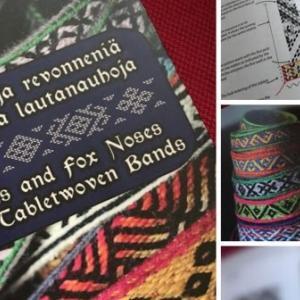 【カード織りの本】Omenaisiä ja revonneniä 〜フィンランドのカード織りパターン集〜